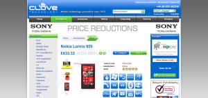 Clove Lumia 920