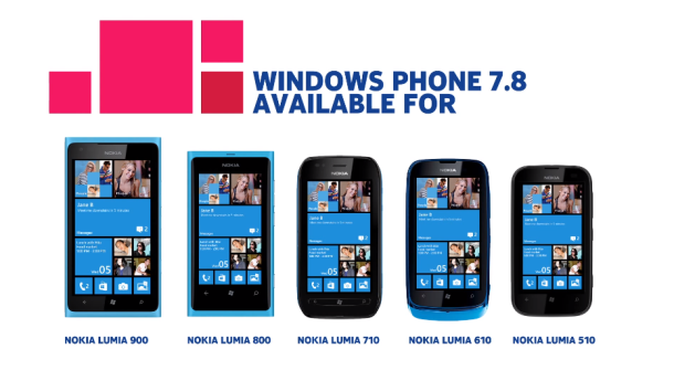 Windows Phone 7.8 update for Lumia