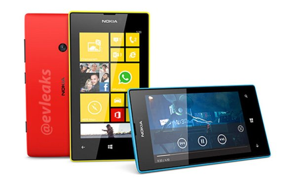 Nokia Lumia 520 leak